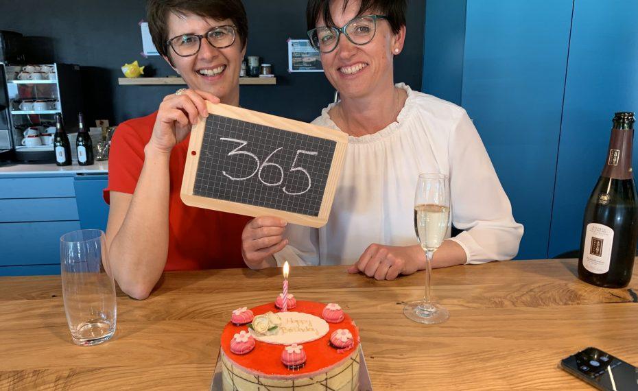 Maria Bassi und Elisabeth Hirtl Wunderraum Open House 2019